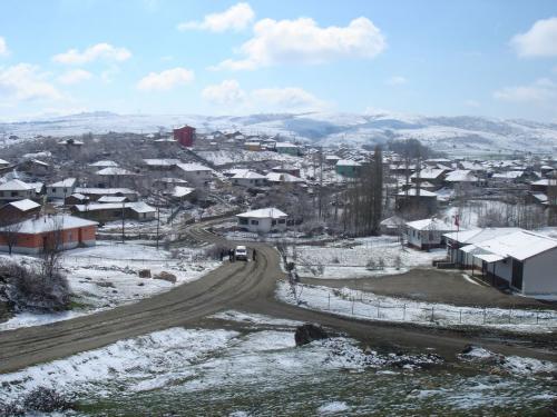Köy Kış Resimleri