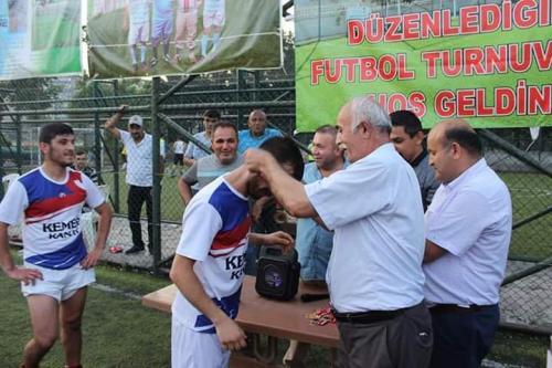 Zile Kervansaray Köyü Derneği'nin Düzenlemiş Olduğu 2019 Futbol Turnuvasının Takımları